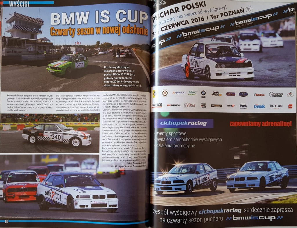 BMW IS CUP 2016